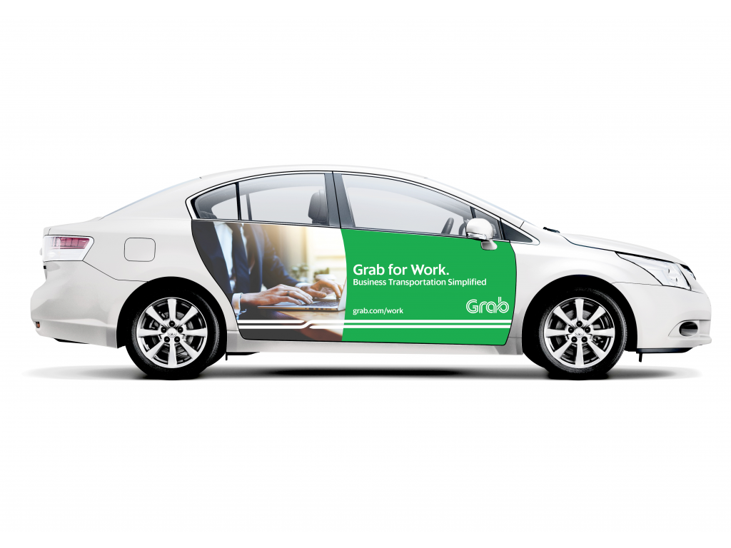 Carblicity - Crowdsourced Private Vehicle Advertising - Grab for Work